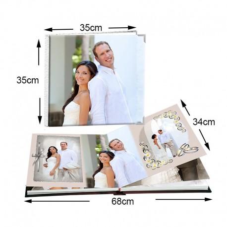 Álbum Cuadrado 35x35 cm