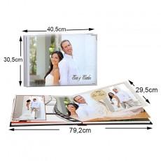 Álbum Panorámico 40,5x30,5 cm