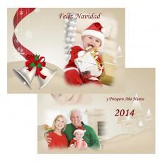 Tarjetón 10x15 Navidad