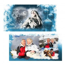 Tarjetón 10x20 Navidad