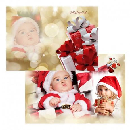 Tarjetón 13X18 Navidad