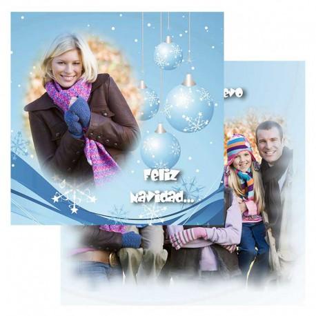 Tarjetón 14x14 Navidad