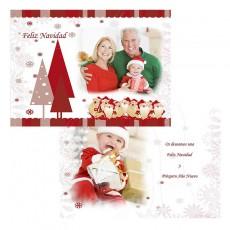 Tarjetón 15X20 Navidad