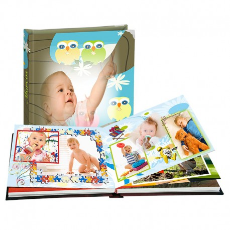 Álbum Bebé Infancia cuadrado