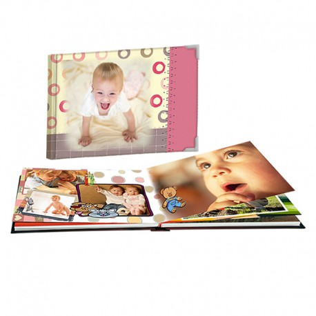 Álbum Bebé infancia panorámico