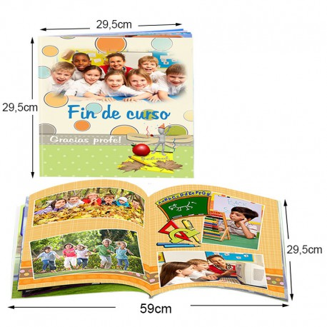Libro fotográfico 29,5x29,5cm