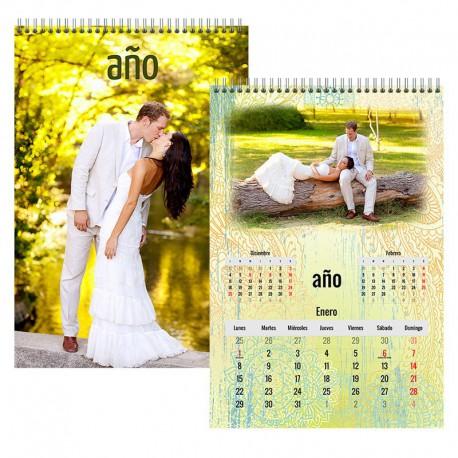 Calendario pared 12 hojas - portada